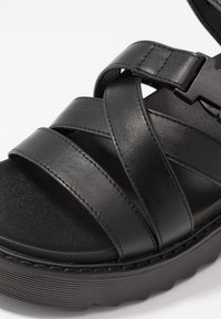 Koi Footwear - VEGAN  - Platform sandals - black - 2