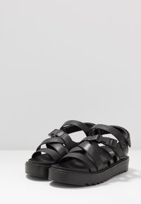 Koi Footwear - VEGAN  - Platform sandals - black - 4