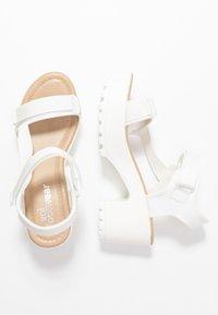 Koi Footwear - VEGAN - Platform sandals - white - 3