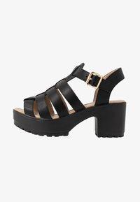 Koi Footwear - VEGAN - Platåsandaler - black - 1