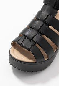 Koi Footwear - VEGAN - Platåsandaler - black - 2