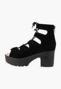 Koi Footwear - VEGAN - Platform sandals - black - 1