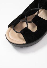 Koi Footwear - VEGAN - Platform sandals - black - 2