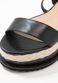 Koi Footwear - VEGAN FAN - Platform sandals - black - 2