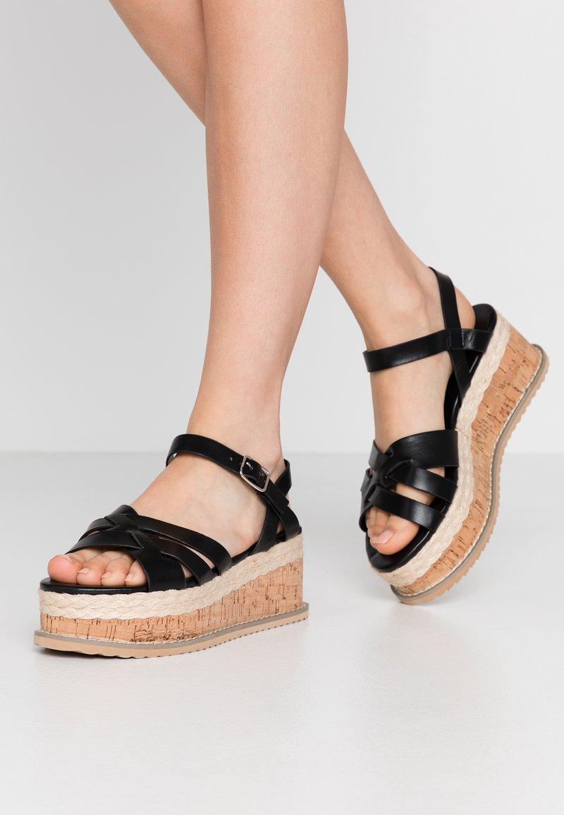 Koi Footwear - VEGAN  - Platform sandals - black