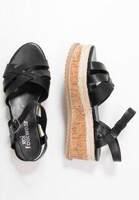 Koi Footwear - VEGAN  - Platform sandals - black - 3