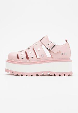 VEGAN RELAY - Mocassins - pink