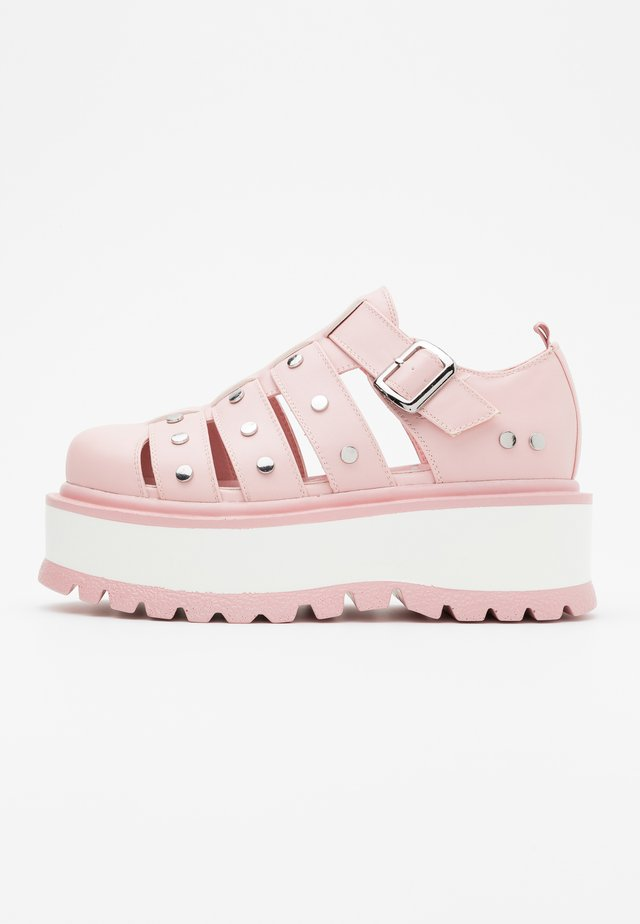 VEGAN RELAY - Slip-ons - pink
