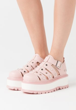 VEGAN RELAY - Slippers - pink