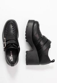 Koi Footwear - VEGAN - Lodičky splatformou - black - 3