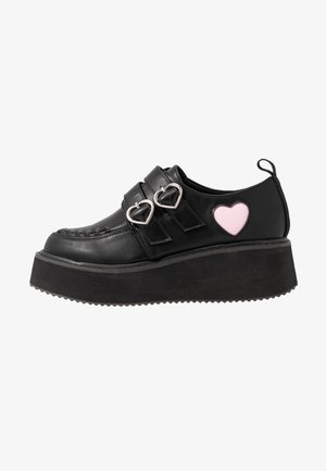 VEGAN - Mocassins - black