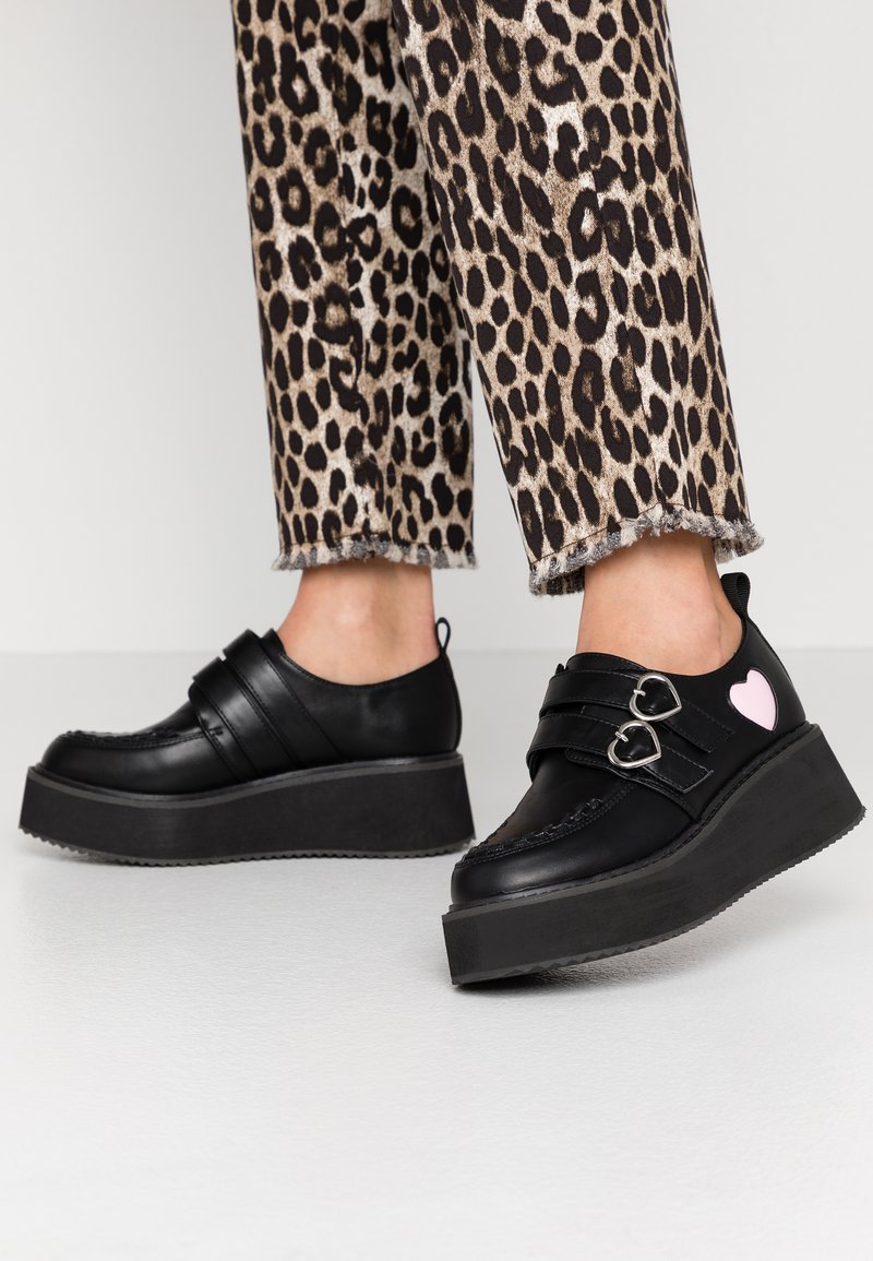 Koi Footwear - VEGAN - Loaferit/pistokkaat - black