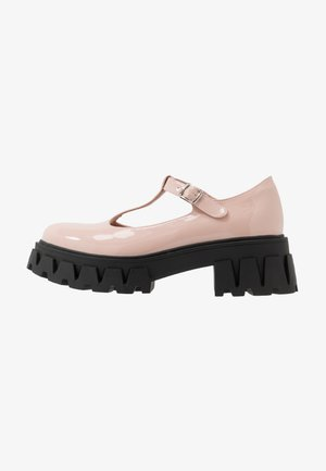 VEGAN SHIN - Platform heels - light pink
