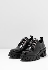 Koi Footwear - VEGAN VULCAN - Lace-ups - black - 4