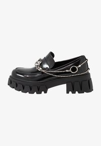Koi Footwear - VEGAN SENTIMENT - Loaferit/pistokkaat - black - 1