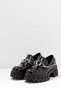 Koi Footwear - VEGAN SENTIMENT - Loaferit/pistokkaat - black - 4