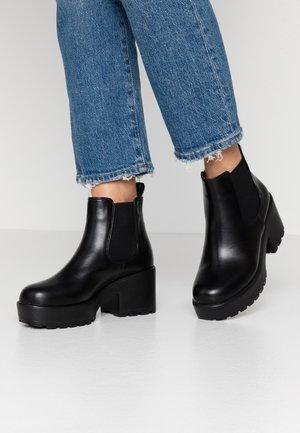 VEGAN - Kotníková obuv - black
