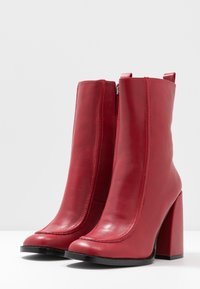 Koi Footwear - VEGAN  - High heeled ankle boots - red - 4