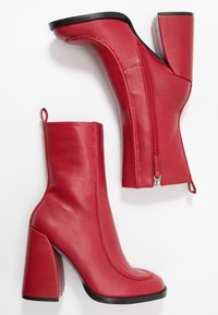 Koi Footwear - VEGAN  - High heeled ankle boots - red - 3