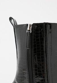 Koi Footwear - VEGAN  - High heeled ankle boots - black - 2