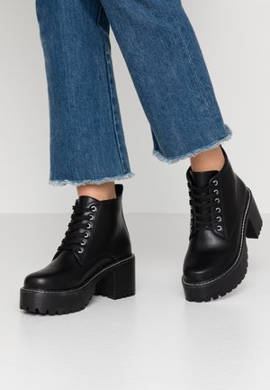VEGAN DL2 - Ankle boots - black