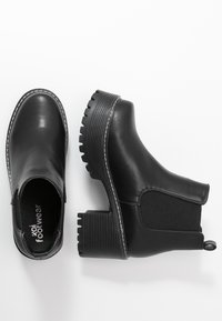 Koi Footwear - VEGAN - Kotníková obuv - black - 3