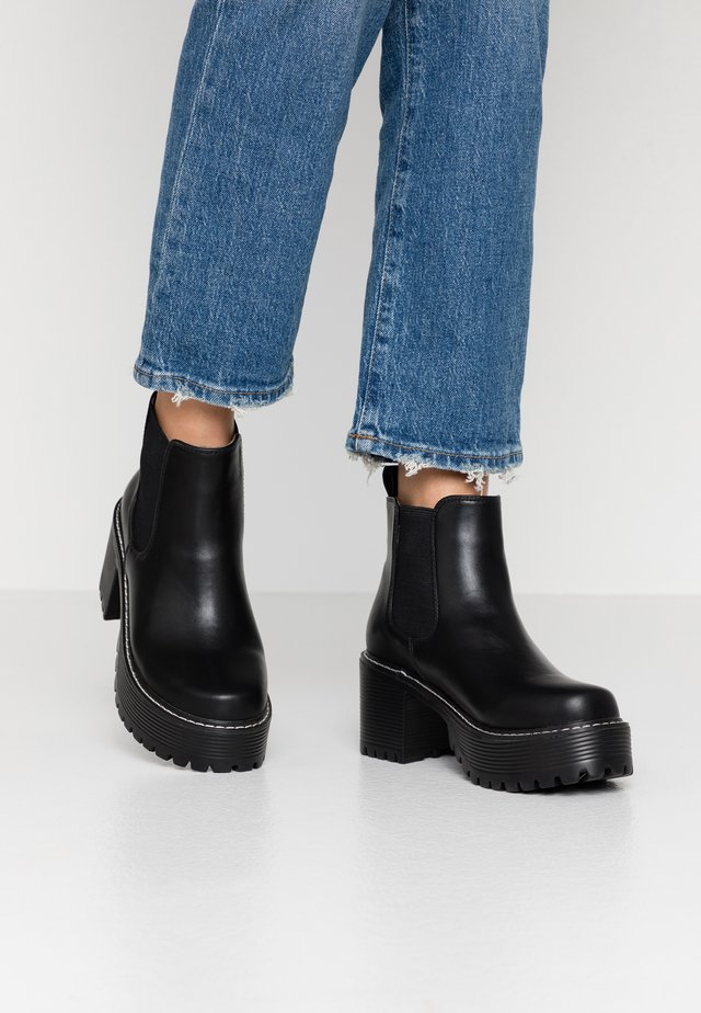 VEGAN - Ankle boots - black