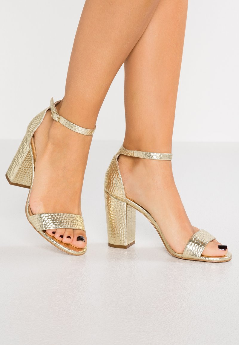 Katy Perry - THE GOLDY - High heeled sandals - champagne