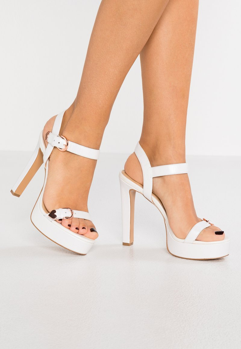 Katy Perry - THE NOELLE - High heeled sandals - white