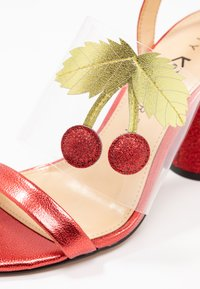Katy Perry - THE RUBIA - High Heel Sandalette - clear/wild lime - 2