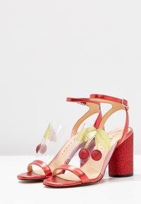 Katy Perry - THE RUBIA - High Heel Sandalette - clear/wild lime - 4