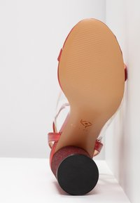Katy Perry - THE RUBIA - High Heel Sandalette - clear/wild lime - 6