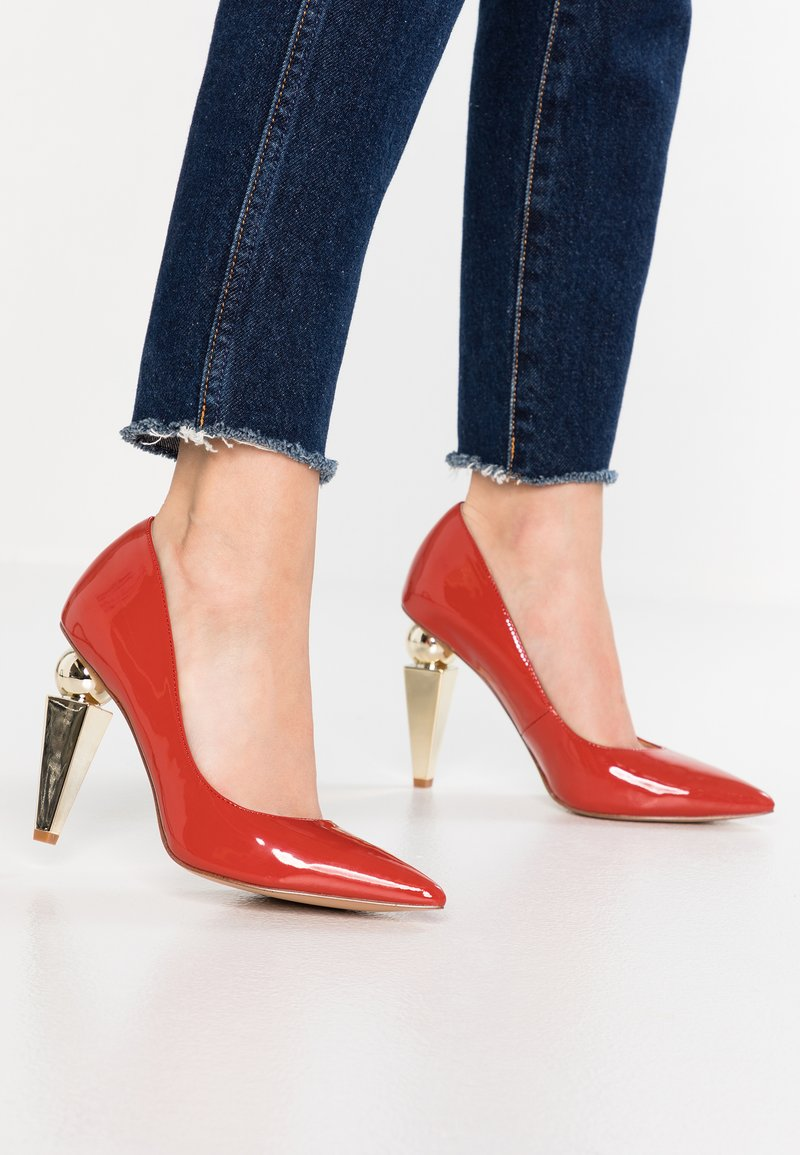 Katy Perry - THE MEMPHIS - High heels - terracota