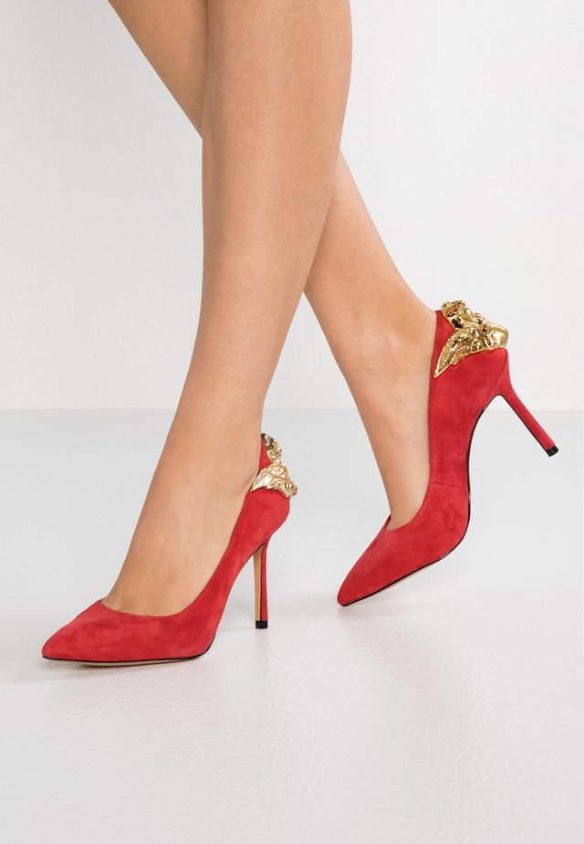 THE CHARMER - High heels - spanish red