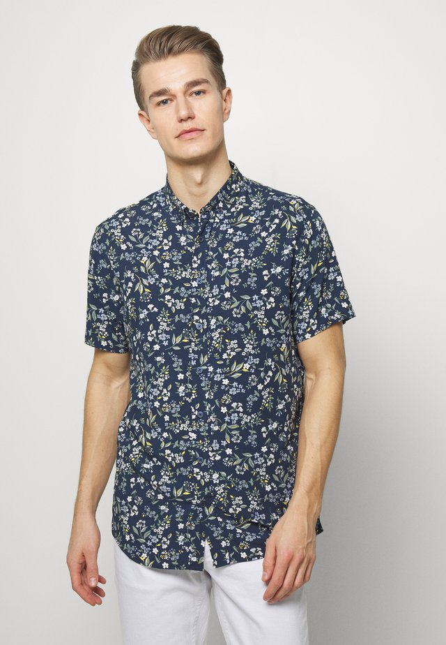 JOHAN EXOTIC - Shirt - navy