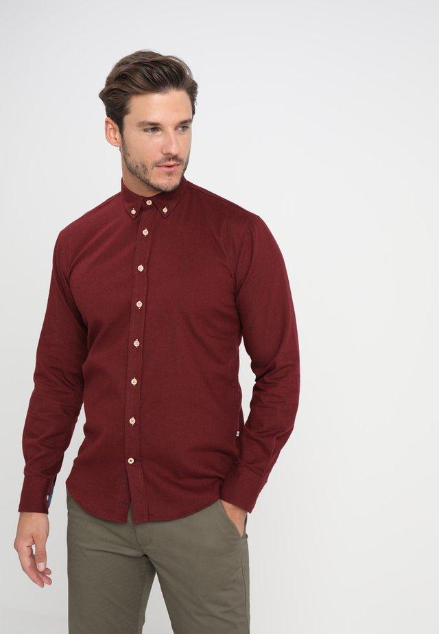 DEAN DIEGO - Shirt - bordeaux