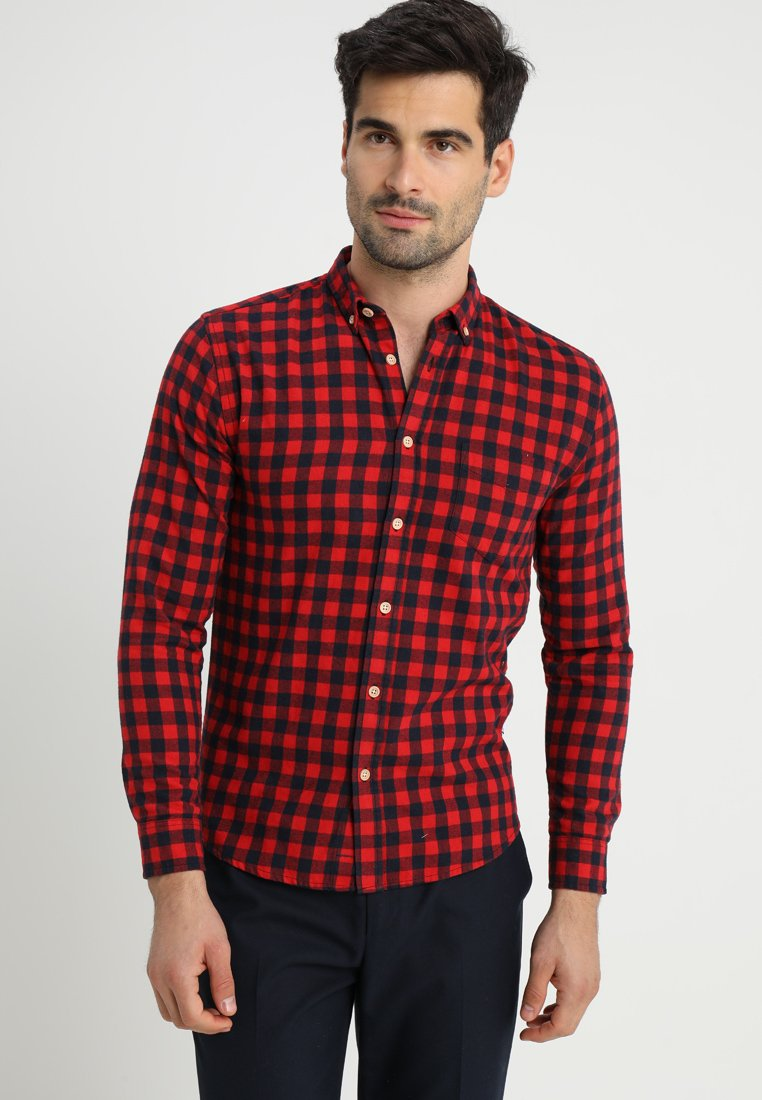 Kronstadt - JOHAN CHECK - Shirt - red