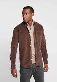 Kronstadt - JOHAN - Chemise - chocolate brown - 0