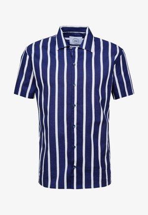 CUBA - Overhemd - dark blue/white