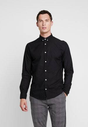 JOHAN OXFORD WASHED - Camicia - black