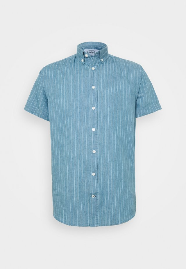 JOHAN STRIPE - Shirt - light blue
