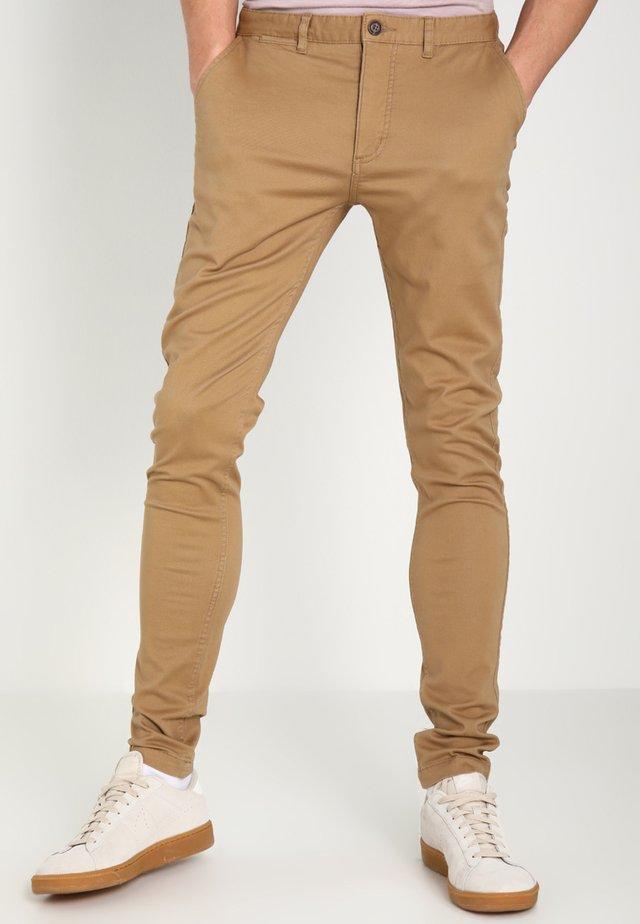 DANIEL - Trousers - beige