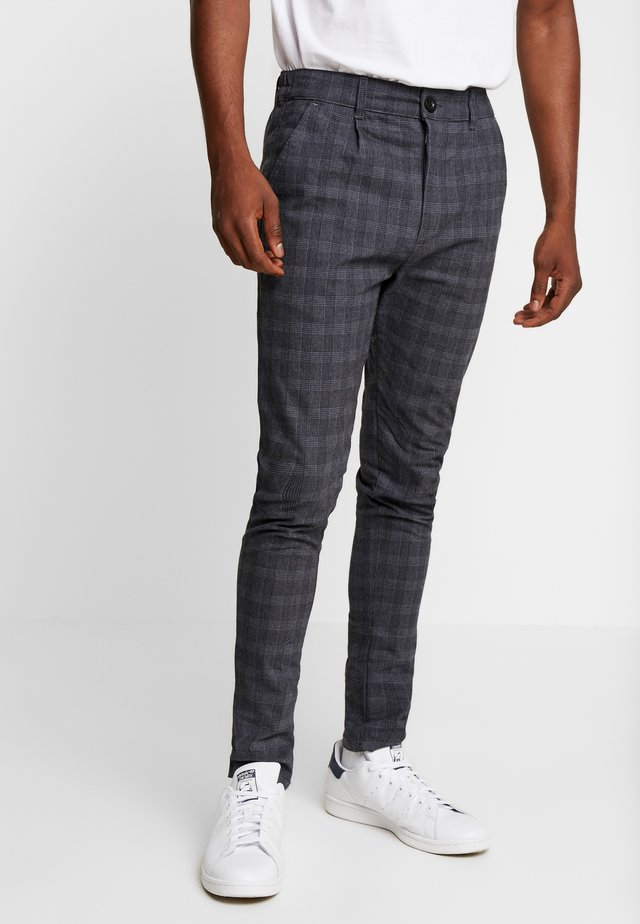 KELD NEW - Trousers - blue