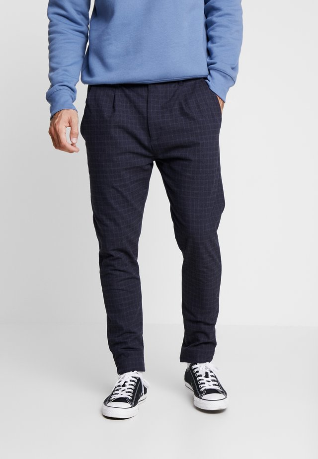 KELD NEW - Trousers - navy / blue
