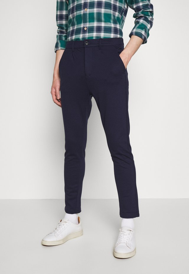 CLUB PANT - Trousers - navy