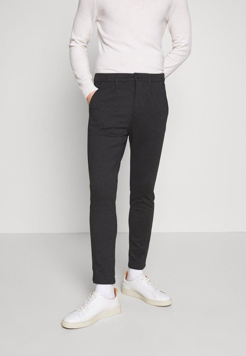 Kronstadt - CLUB PANT - Pantalon classique - black
