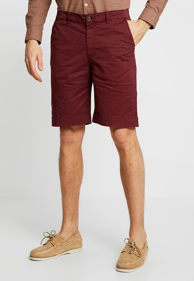 HECTOR - Shorts - bordeaux