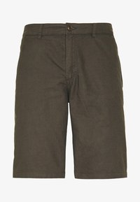 Kronstadt - HECTOR OXFORD WASHED - Shorts - army - 4