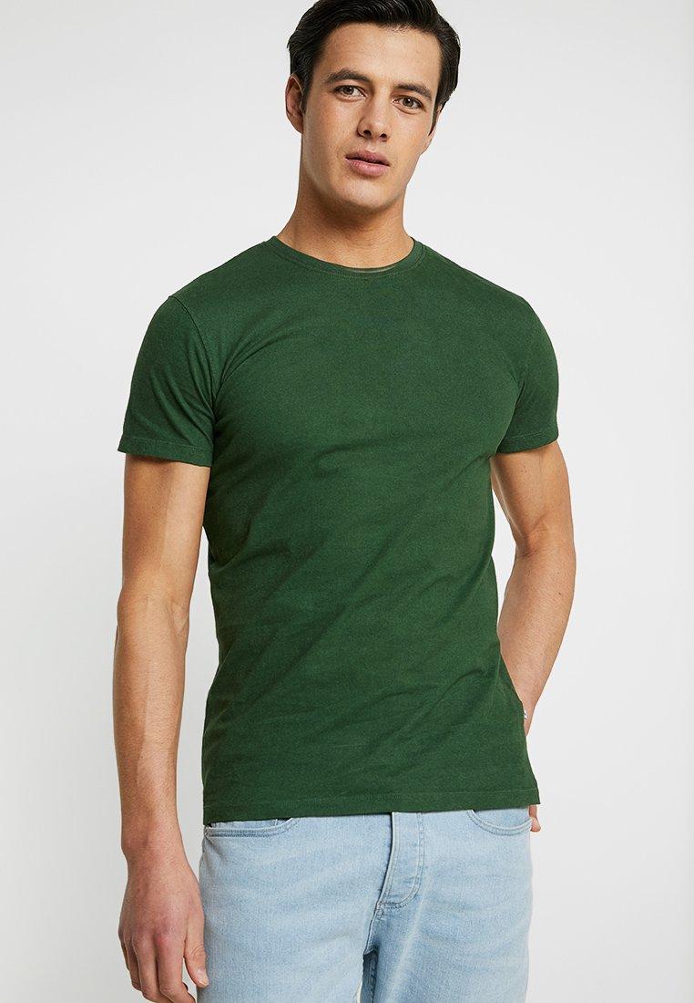 Kronstadt - HEY HO BASIC - Basic T-shirt - green