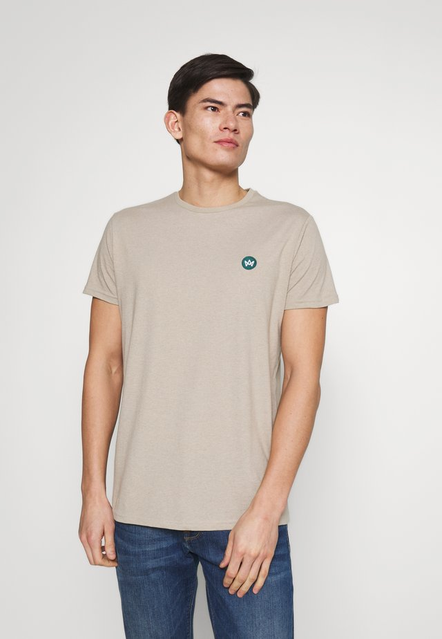 TIMMI TEE - Basic T-shirt - stone